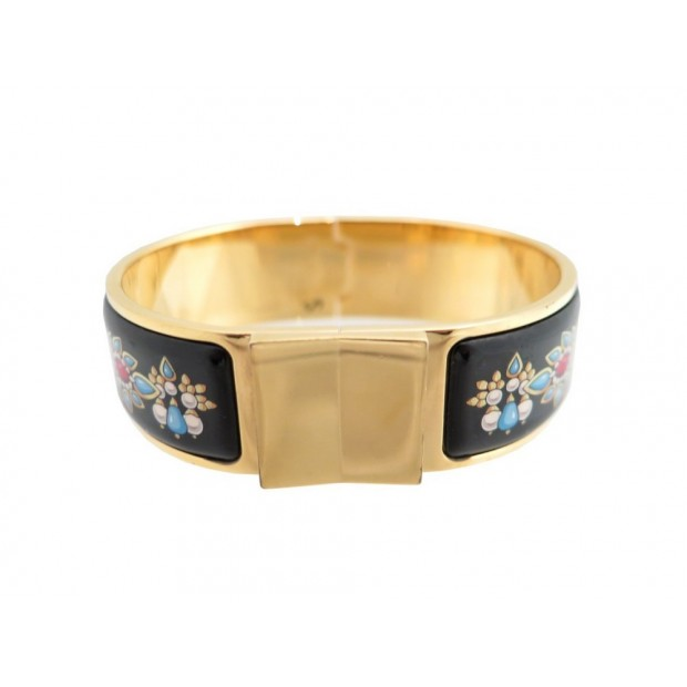 Bracelet large dore