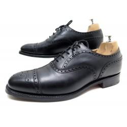 Chaussures derby en cuir à bout perforé350.00BOSS qKT6NJ