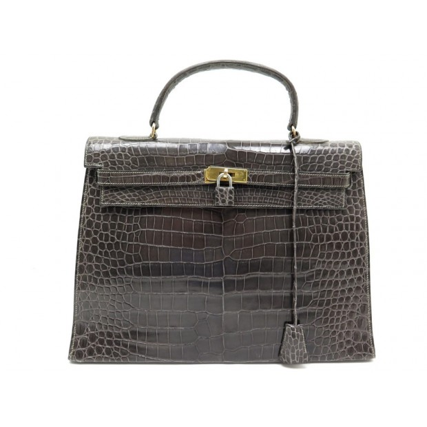 where to buy vintage sac a main hermes kelly 36 en cuir crocodile porosus  71d94 e75e9 2243e7b3172ae