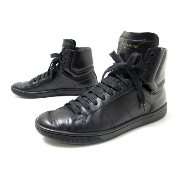 chaussures saint laurent sl01h 313242 36 baskets en. Black Bedroom Furniture Sets. Home Design Ideas