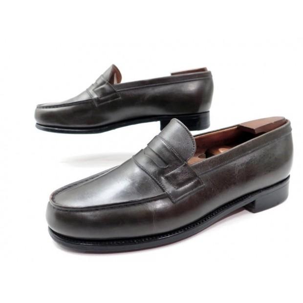 chaussures jm weston 38 5 39 mocassins femme cuir. Black Bedroom Furniture Sets. Home Design Ideas