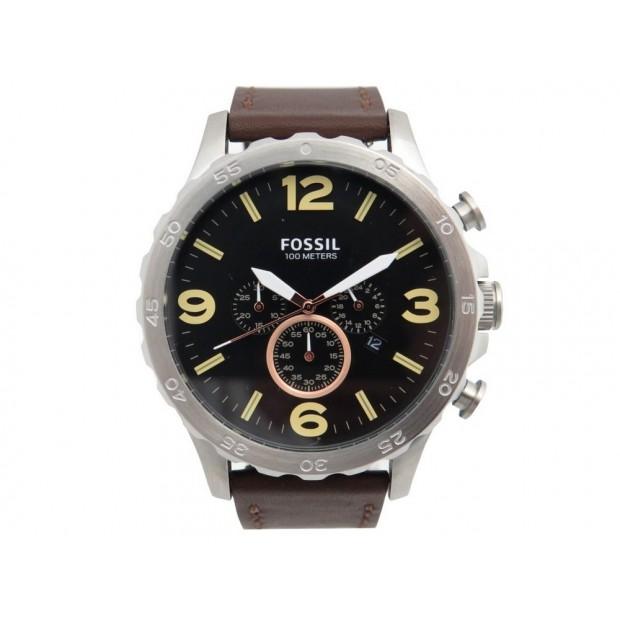 Montre fossil jr1475 50 mm chronographe acier - Magasin fossil paris ...