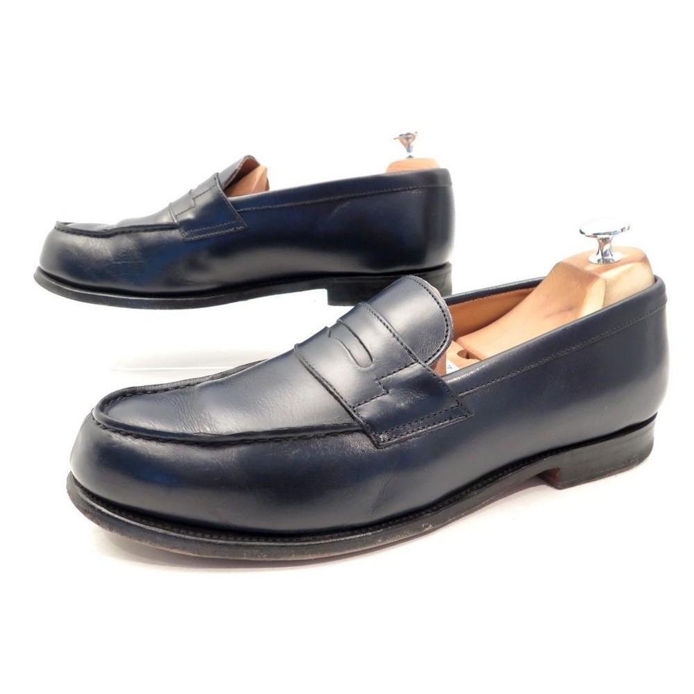 Chaussures Mocassin Homme en Cuir Bleu Marine 6RgMLh