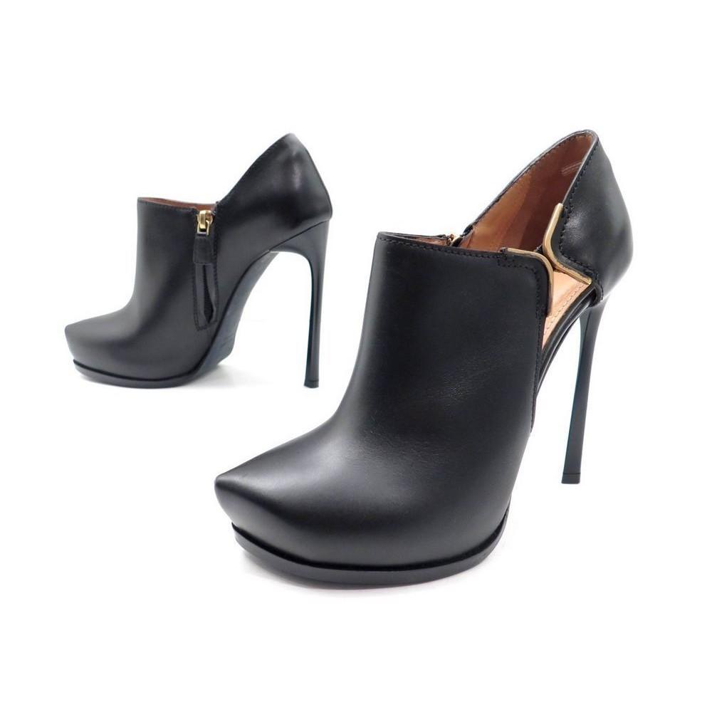 chaussures lanvin 38 escarpins low boots en cuir