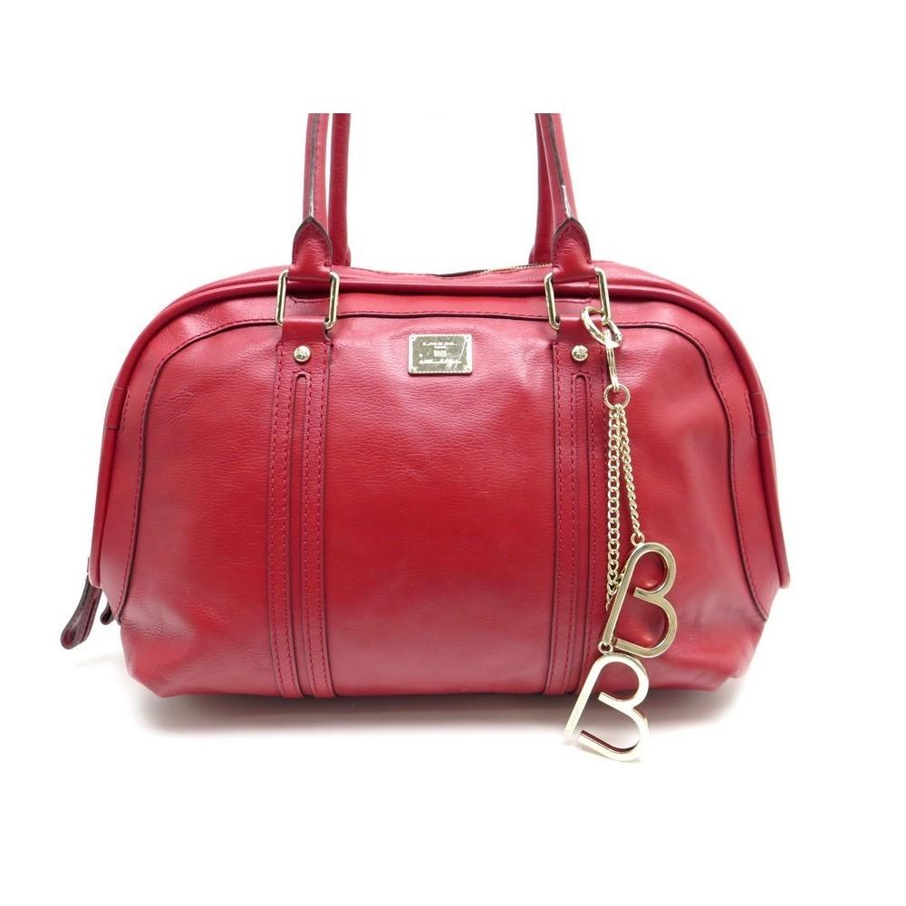 sac a main lancel cabas 38 cm en cuir rouge bijou. Black Bedroom Furniture Sets. Home Design Ideas