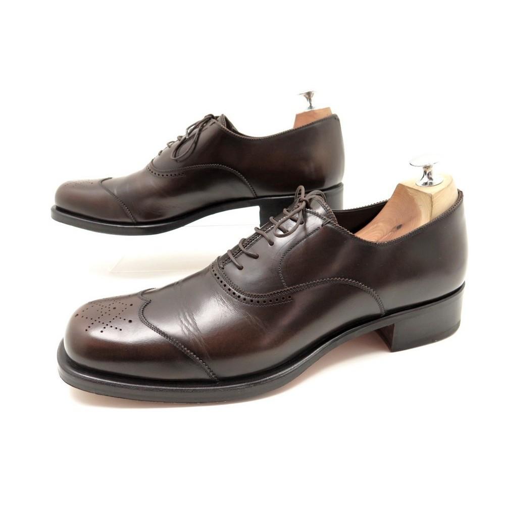 chaussures yves saint laurent richelieu 42 42 5. Black Bedroom Furniture Sets. Home Design Ideas