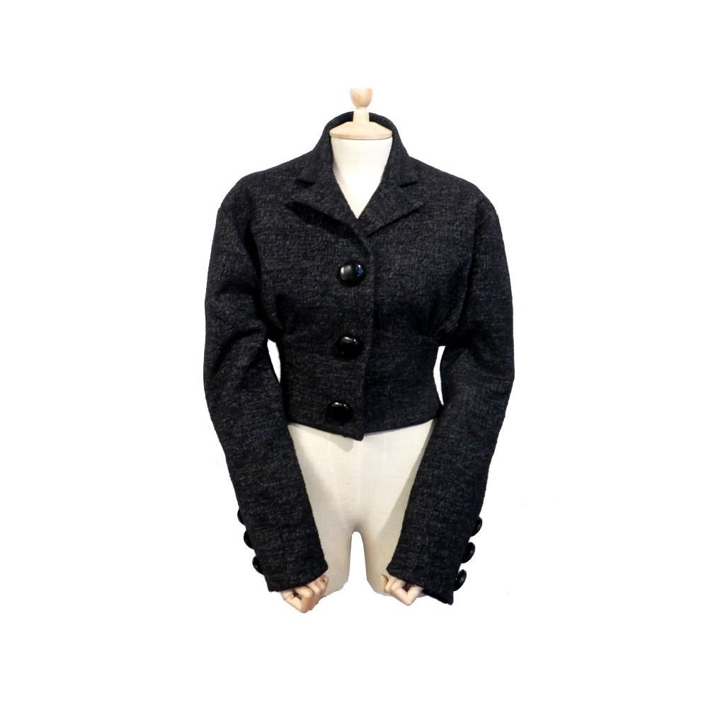 veste courte cintree louis vuitton femme xs s 34 36 en. Black Bedroom Furniture Sets. Home Design Ideas