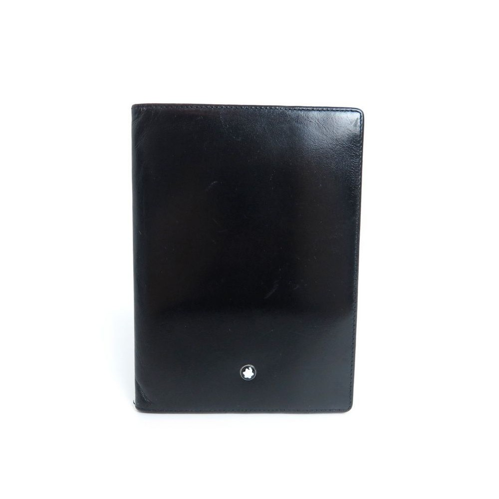 Porte cartes de visite montblanc meisterstuck en cuir - Porte carte de visite cuir ...