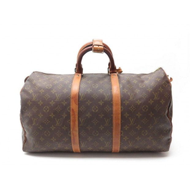 sac de voyage a main louis vuitton keepall 50. Black Bedroom Furniture Sets. Home Design Ideas