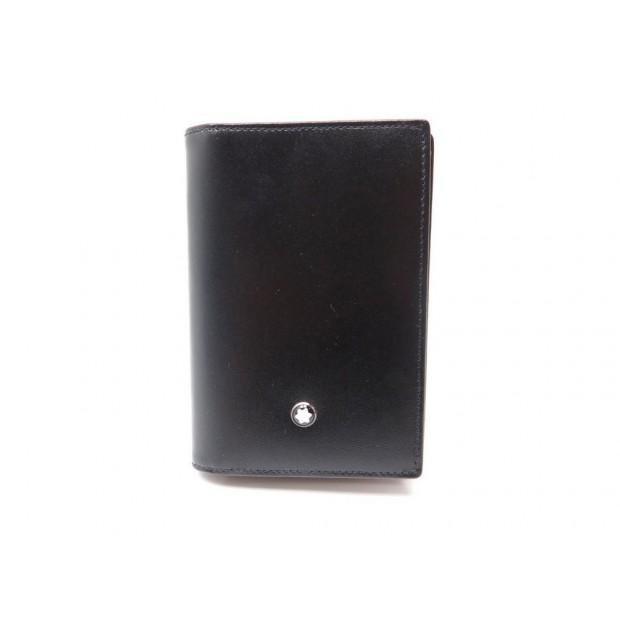 Porte cartes de visite montblanc meisterstuck - Porte carte de visite cuir ...