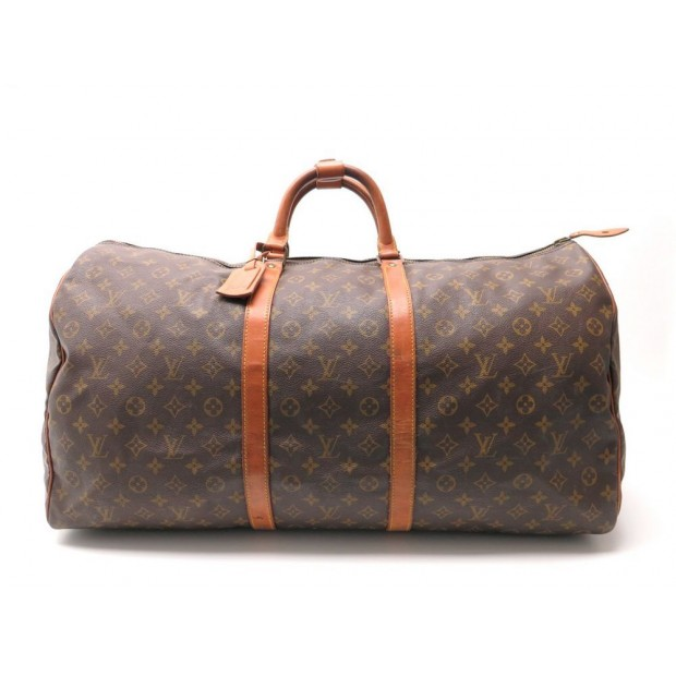 sac de voyage a main louis vuitton keepall 60. Black Bedroom Furniture Sets. Home Design Ideas