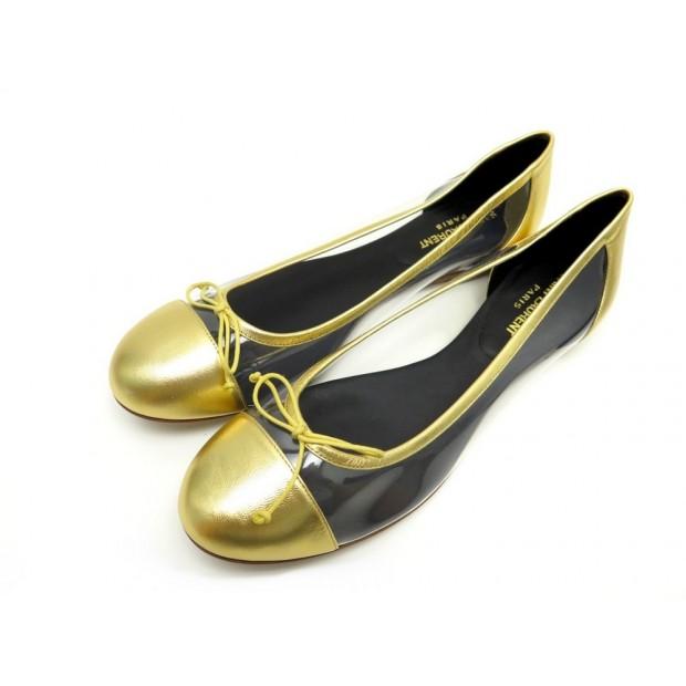 chaussures saint laurent 40 ballerines. Black Bedroom Furniture Sets. Home Design Ideas