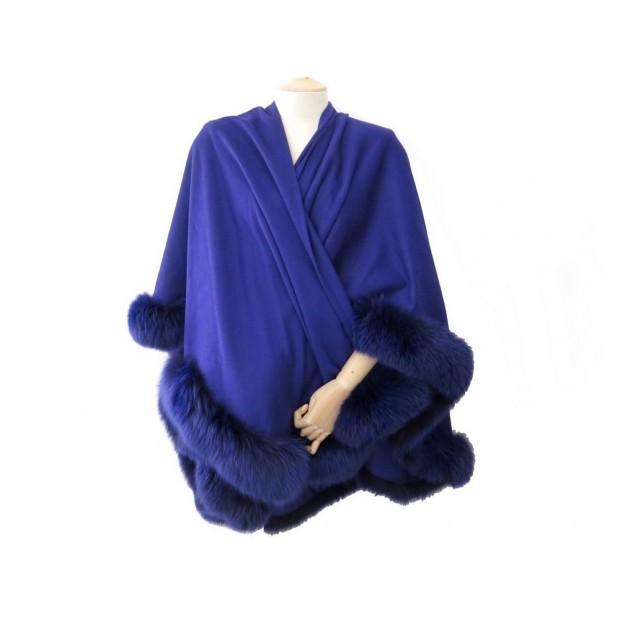 cape revillon manteau femme en cachemire et fourrure. Black Bedroom Furniture Sets. Home Design Ideas