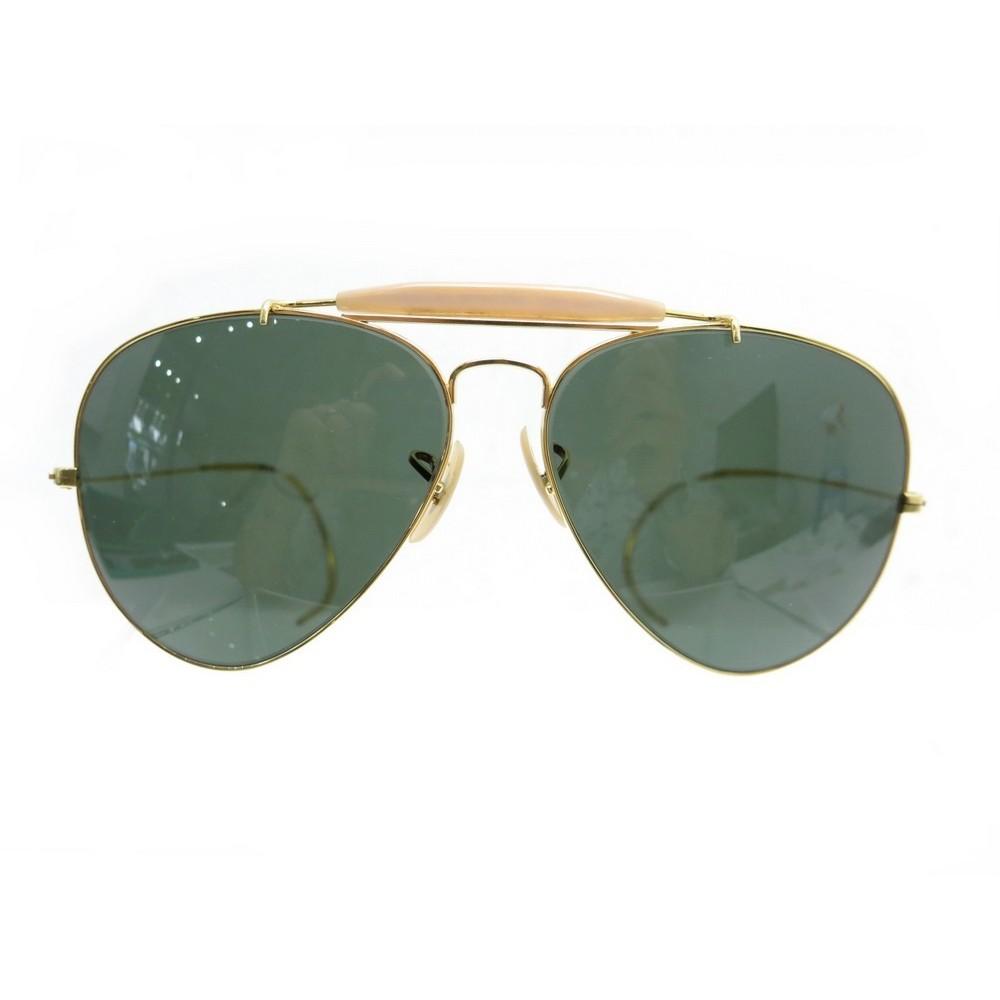 lunettes de soleil rayban aviator b l usa dore. Black Bedroom Furniture Sets. Home Design Ideas