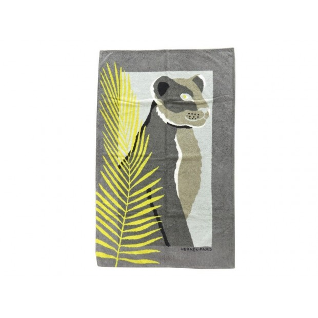 drap de bain hermes tapis de plage felin puma. Black Bedroom Furniture Sets. Home Design Ideas