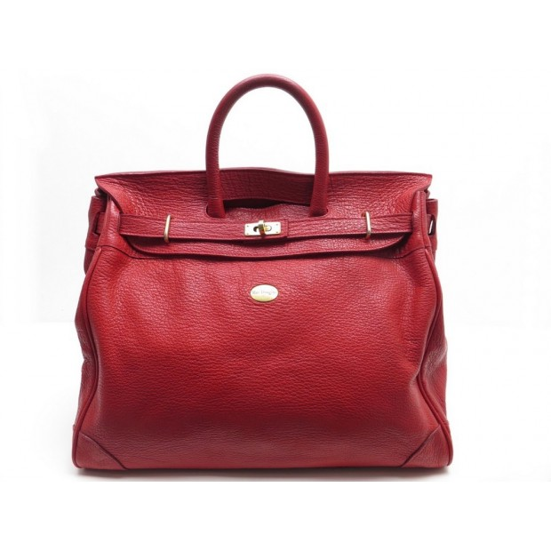 sac a main mac douglas pyla buni m en cuir rouge. Black Bedroom Furniture Sets. Home Design Ideas