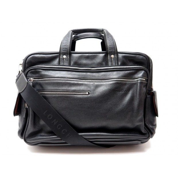 sac sacoche longchamp porte document bandouliere pc 17. Black Bedroom Furniture Sets. Home Design Ideas