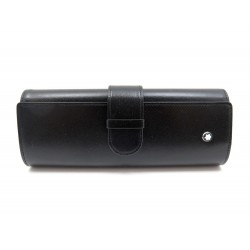 NEUF ETUI A STYLO PLUME MONTBLANC MEISTERSTUCK TRAVELER 147 CUIR PEN POUCH 185€
