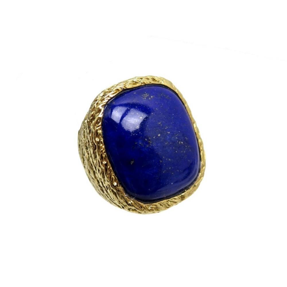 bague aurelie bidermann miki lapis lazuli t 52 en. Black Bedroom Furniture Sets. Home Design Ideas