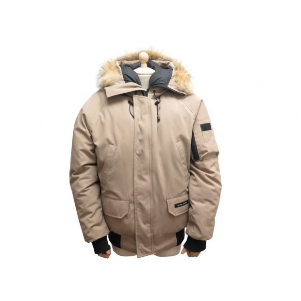 canada goose homme beige canada goose blouson aviateur chilliwack pour homme beige claire. Black Bedroom Furniture Sets. Home Design Ideas