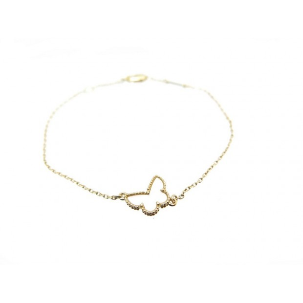 Neuf Bracelet Van Cleef Arpels Papillon Sweet Alhambra Or 18k 750 X Gr