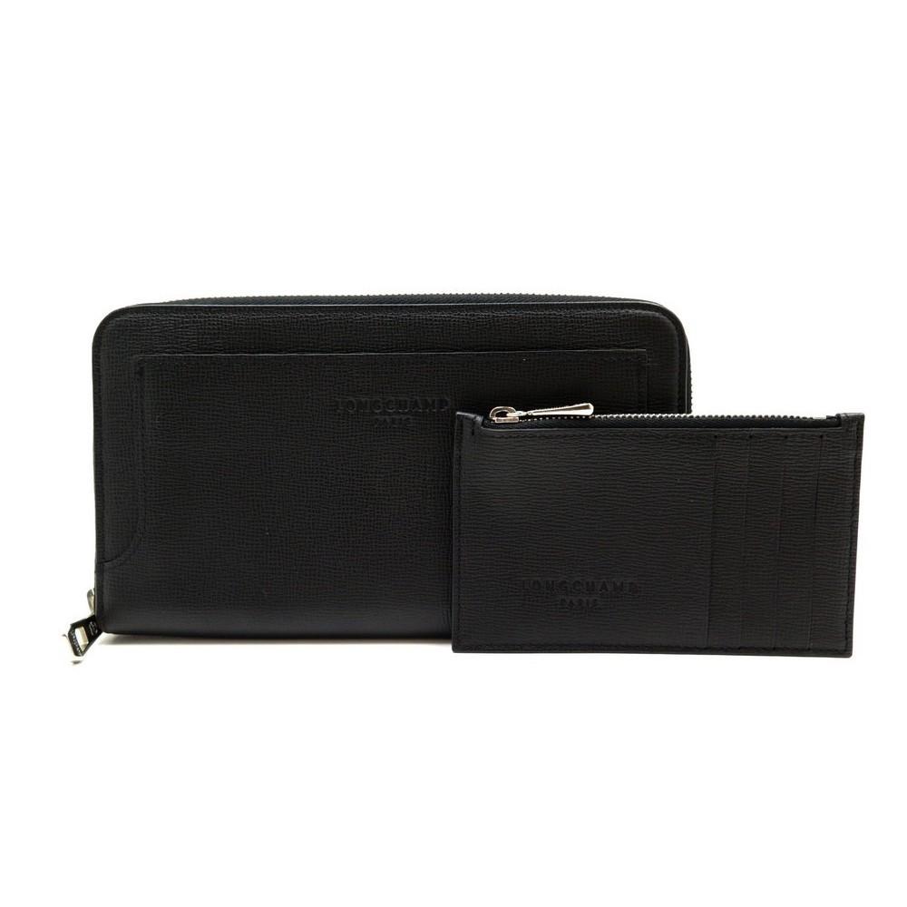 Compagnon cuir femme longchamp fabulous sac cabas m pnlope noirnaturel longchamp with compagnon - Porte monnaie femme longchamp ...