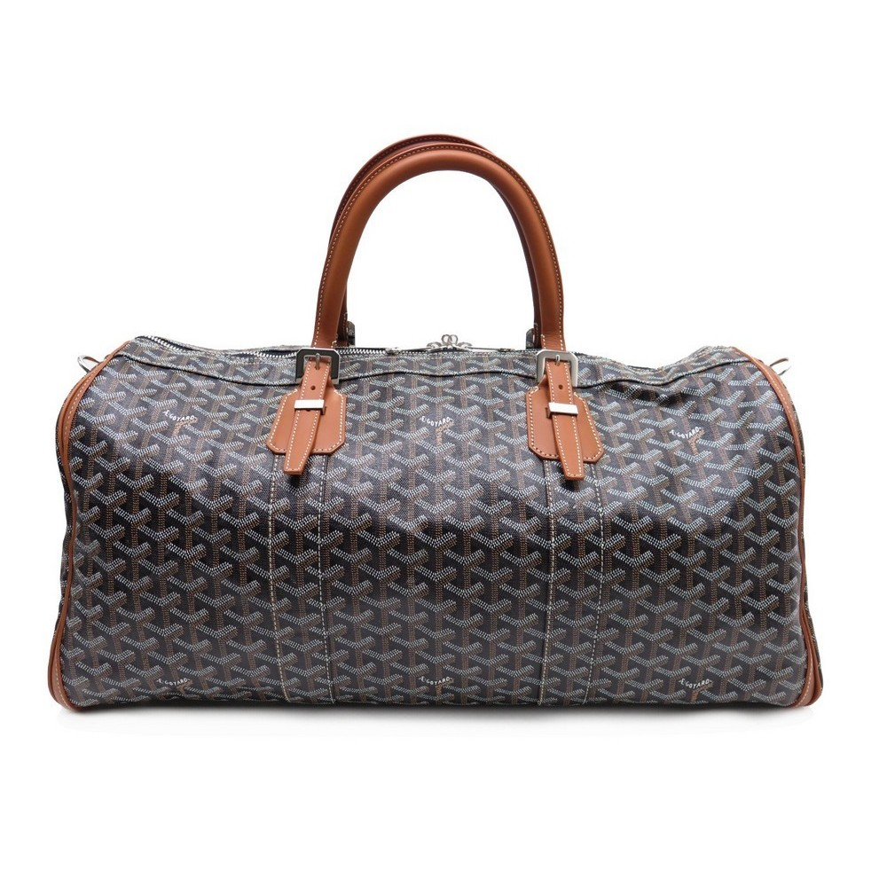 sac a main de voyage goyard croisiere 50 toile. Black Bedroom Furniture Sets. Home Design Ideas