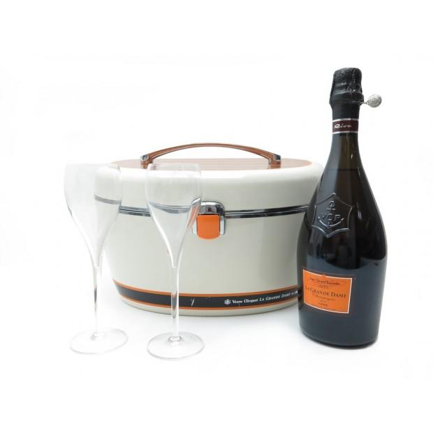 rare coffret bouteille de champagne veuve clicquot la. Black Bedroom Furniture Sets. Home Design Ideas