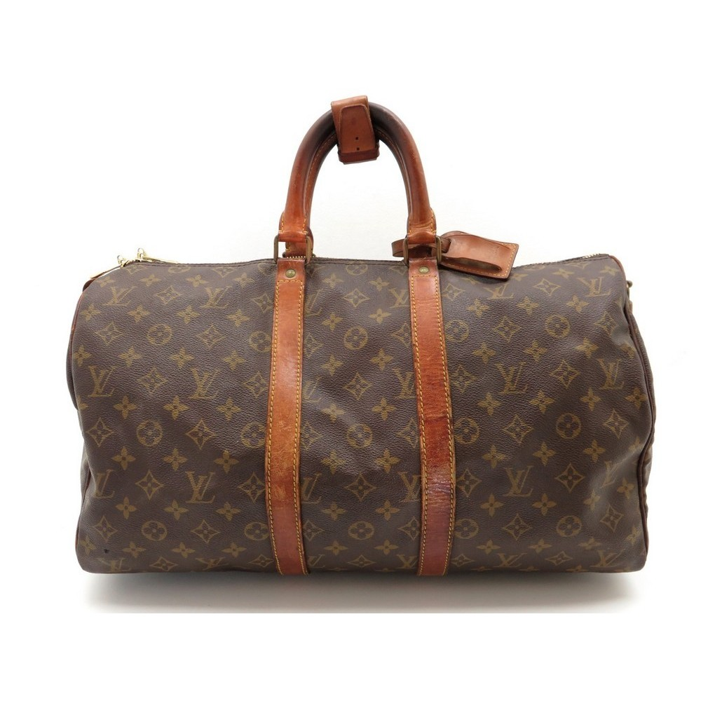 sac de voyage a main louis vuitton keepall 45. Black Bedroom Furniture Sets. Home Design Ideas