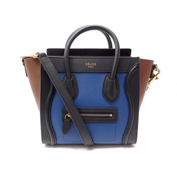 7f73f52f985 sac a main celine 168243 luggage nano multicolore
