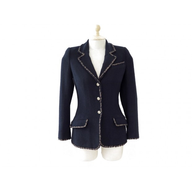 NEUF VESTE TAILLEUR CHANEL 1 2 3