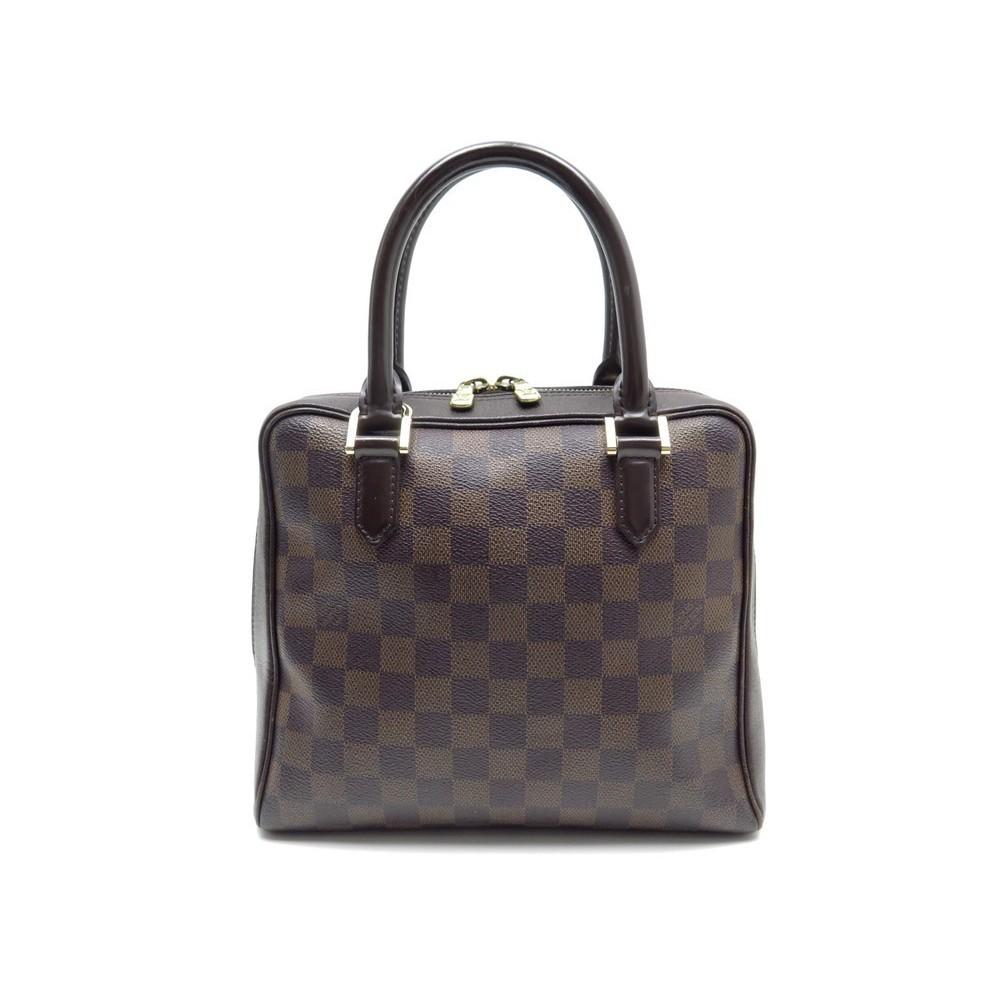 Nettoyage Sac A Main Louis Vuitton Brera N51150 Handbag Damier Ebene Loading Zoom