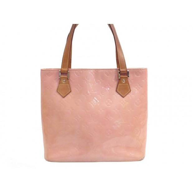 super popular best value many fashionable sac a main louis vuitton houston cuir monogram vernis