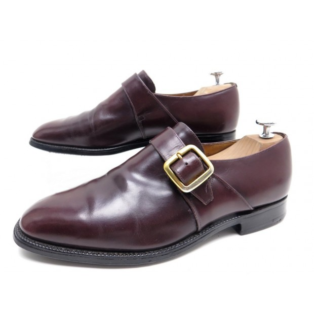 CHAUSSURES CHURCH S WESTBURY 6.5G 40.5 LARGE 41 CUIR BORDEAUX