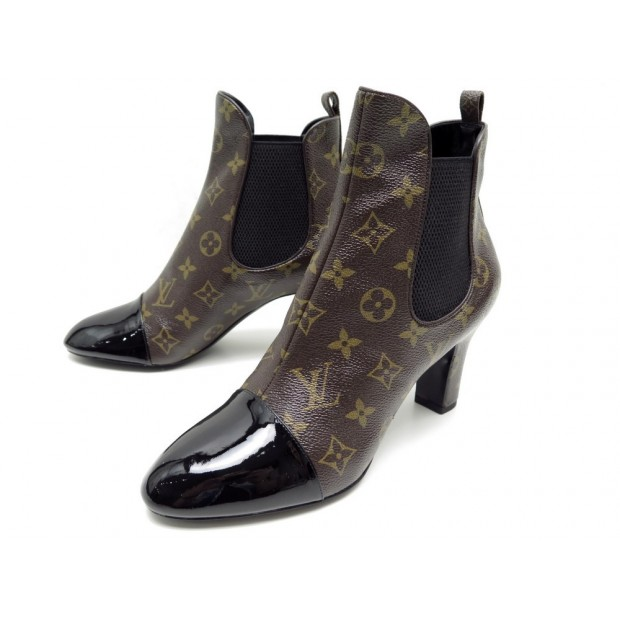 NEUF BOOTS LOUIS VUITTON 41 TOILE MONOGRAM 900€