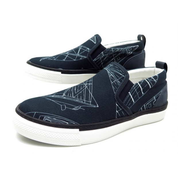 NEUF CHAUSSURES LOUIS VUITTON VICTORY SLIP-ON AMERICA'S CUP 6 40 BASKETS 550€