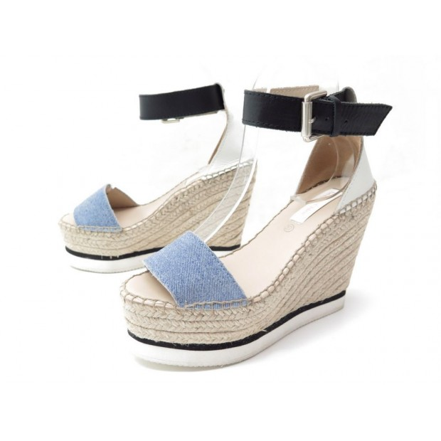 See Chaussures By Chloe Compensees Espadrilles dtsrCBxhQ