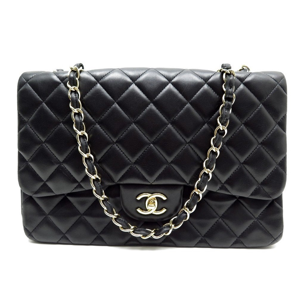7cfc0c9184 sac a main chanel timeless grand classique dore jumbo