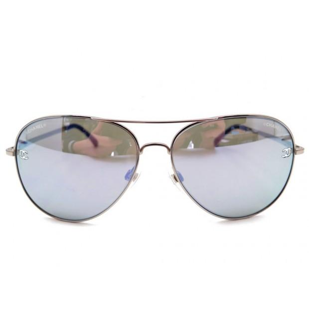 86b1b5f2bde91 lunettes de soleil chanel pilote 4189tq aviateur
