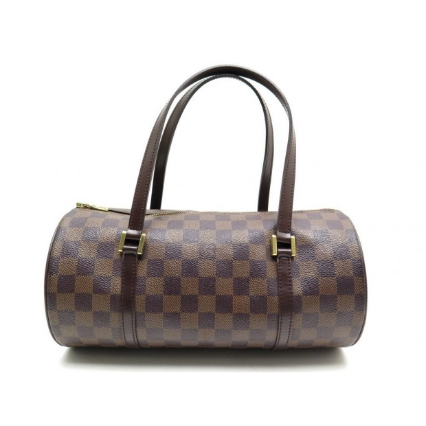 SAC A MAIN LOUIS VUITTON PAPILLON 30 NM EN TOILE DAMIER EBENE CANVAS PURSE 895€