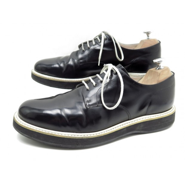 CHAUSSURES CHURCH'S STRATFORD OLYMPIC UNION JACK 9 43 DERBY CUIR NOIR SHOES 550€