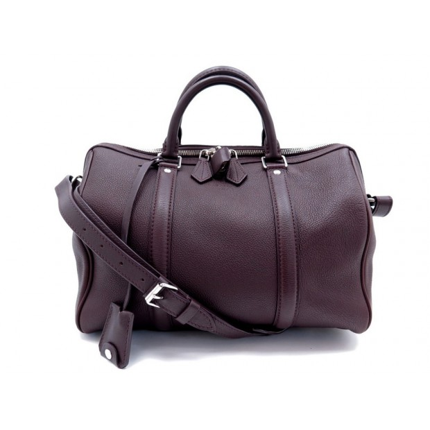 SAC A MAIN LOUIS VUITTON SOFIA COPPOLA PM EN CUIR GRAINE VIOLET PURPLE BAG 3200€