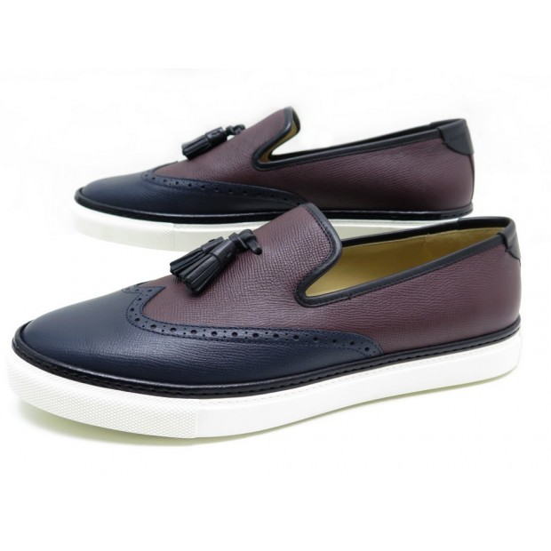 NEUF CHAUSSURES HERMES MOCASSINS A PAMPILLE 43