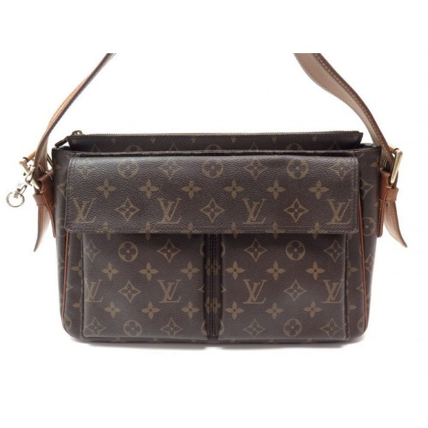 SAC A MAIN LOUIS VUITTON VIVA CITE GM 36 CM TOILE MONOGRAM HAND BAG PURSE 1200€