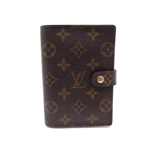 PORTE AGENDA LOUIS VUITTON 2018 EN TOILE MONOGRAM LV MARRON DIARY BOOK 255€