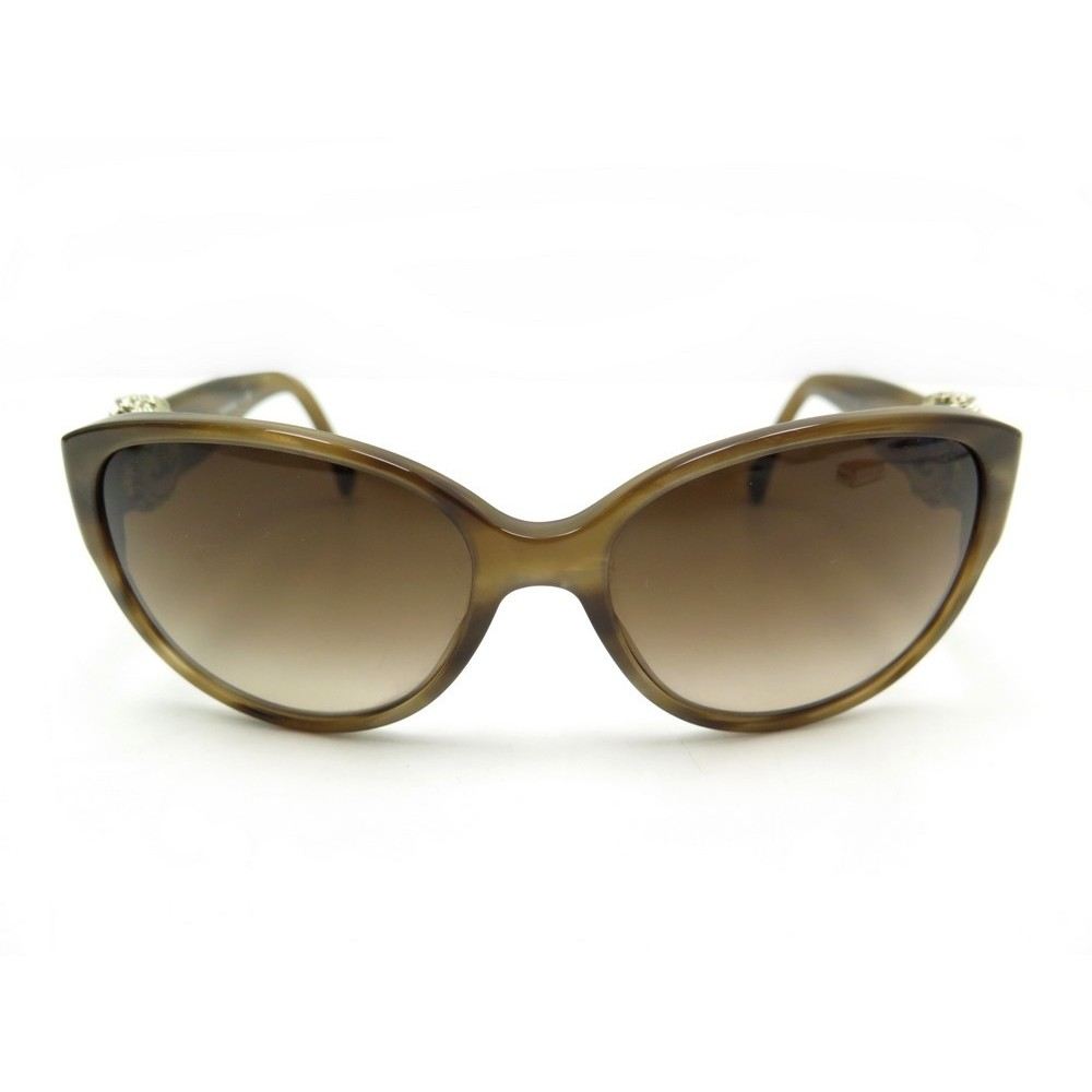 da661d6f0d671 LUNETTES DE SOLEIL CHANEL COLLECTION BOUTON 5192 MARRON SUNGLASSES BROWN  385€. Loading zoom