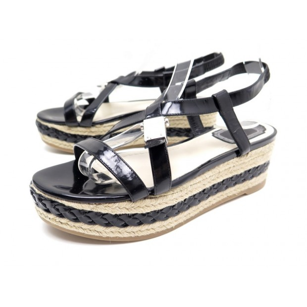 NEUF CHAUSSURES CHRISTIAN DIOR ESPADRILLES 36.5