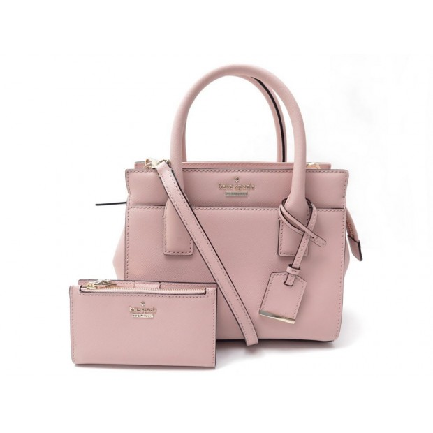 NEUF SAC A MAIN KATE SPADE NEW YORK MINI CANDICE CUIR SAFFIANO PORTEFEUILLE 433€