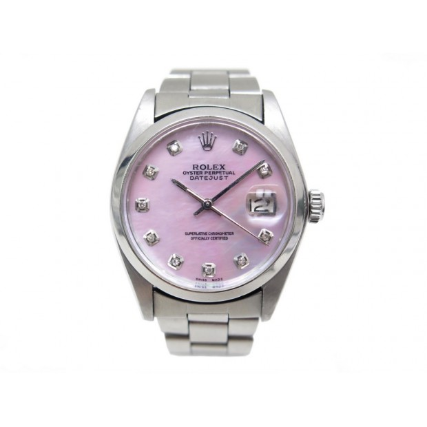 4586424a50c montre rolex oyster perpetual datejust index diamant