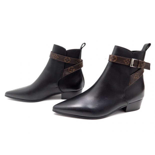 NEUF CHAUSSURES BOTTINES LOUIS VUITTON CHARLOTTE 38